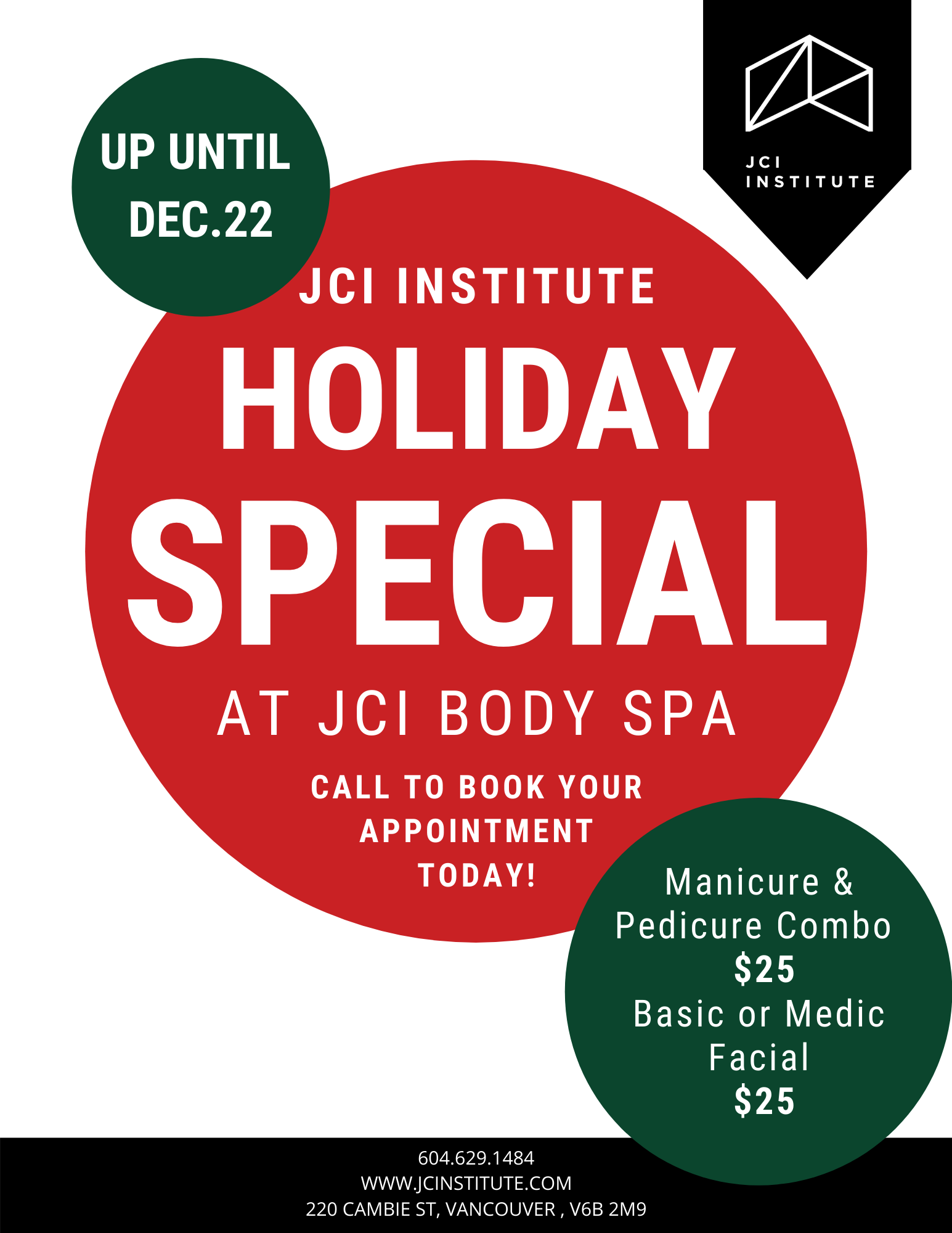 JCI Body Spa Flyer